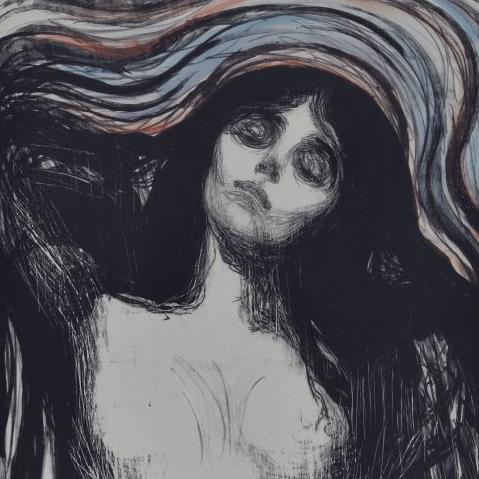 """""""Madonna"""" Edvarda Muncha w zbiorach Biblioteki Uniwersyteckiej w Warszawie"""